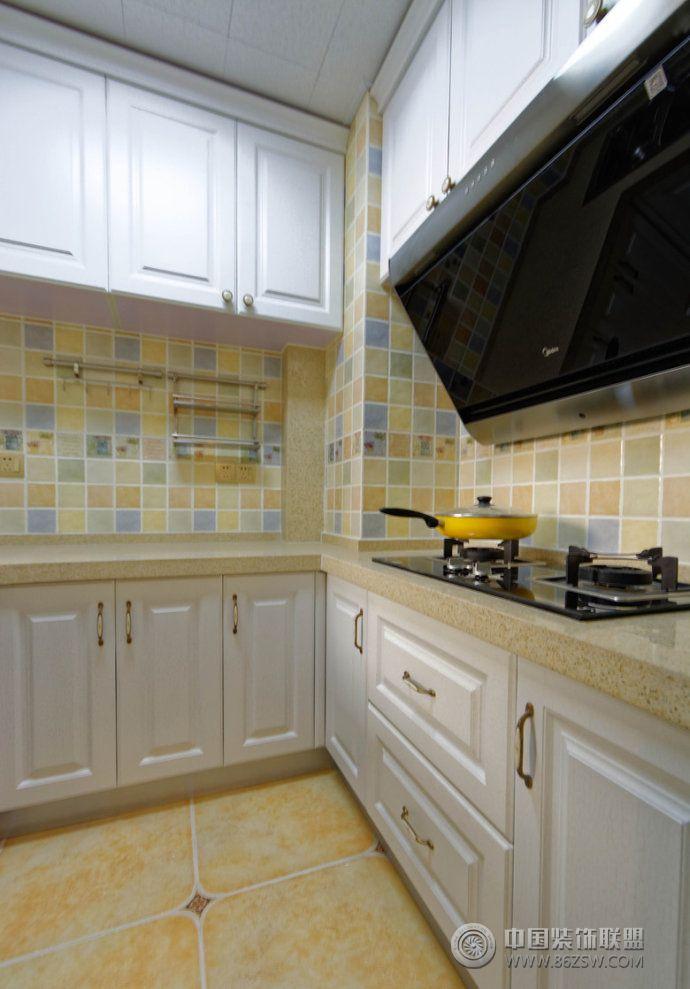 家装厨房油烟机设计-厨房装修图片