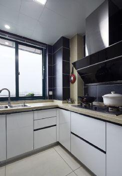 家装厨房油烟机设计现代厨房装修图片