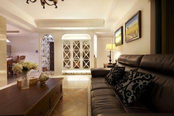 140平混搭装修案例混搭客厅装修图片