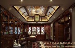 古雅自然的四合院装修设计案例酒店装修图片