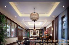 清新明快的四合院装修设计案例酒店装修图片