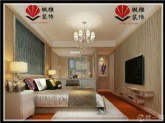 诚和*新旅程126平90后婚房 低调奢华混搭出彩欧式卧室装修图片