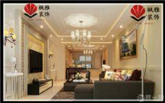 诚和*新旅程126平90后婚房 低调奢华混搭出彩欧式风格三居室