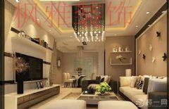 泰合郡112平现代风格效果图完美上映现代客厅装修图片