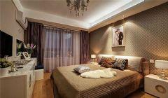 旭辉美澜城89平方2居室-现代简约装修效果图现代简约卧室装修图片