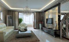 旭辉美澜城89平方2居室-现代简约装修效果图现代简约风格小户型
