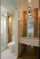 旭辉美澜城89平方2居室-现代简约装修效果图现代简约卫生间装修图片