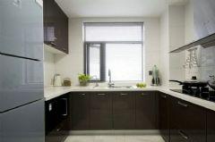 旭辉美澜城89平方2居室-现代简约装修效果图现代简约厨房装修图片
