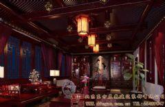 优雅浓郁的四合院设计案例酒店装修图片