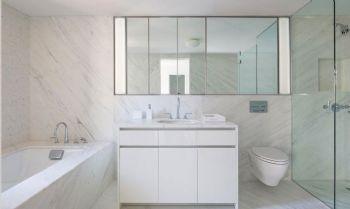 轻松设计爱家卫生间浴室柜现代卫生间装修图片