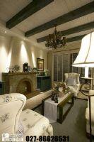 奥山世纪城101平米美式风格三居室