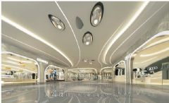 天霸设计分享城市综合体内部效果图商场装修图片