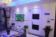 永新大成郡完工图(全房硅藻泥)很漂亮哦欧式客厅装修图片