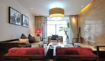 123平中式典雅温馨家中式客厅装修图片