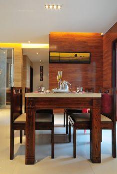 123平中式典雅温馨家中式餐厅装修图片