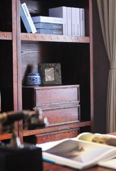 123平中式典雅温馨家中式书房装修图片