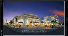 友情推荐城市综合体外观效果图商场装修图片