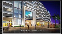 2015年城市综合体效果图抢先看商场装修图片