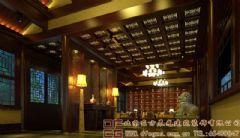 奢华含蓄的四合院装修设计案例酒店装修图片
