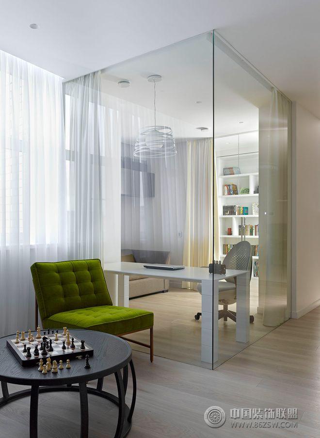 136平现代简约装修案例 客厅装修效果图 八六装饰网装修效