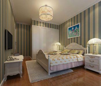 巧妙布局孩子卧室衣柜现代儿童房装修图片