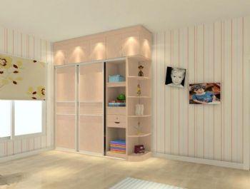 80平简约实木风格简约客厅装修图片