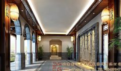 宁静典雅的四合院装修设计案例