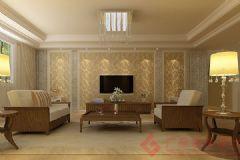 星河城装修案例——烟台广来装饰简约风格三居室
