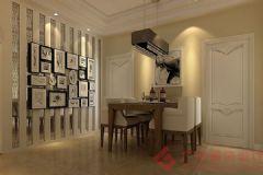 星河城装修案例——烟台广来装饰简约客厅装修图片