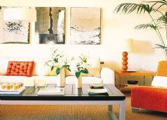 客厅装修效果图现代风格二居室