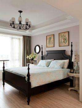 155平美式乡村雅居装修案例美式卧室装修图片