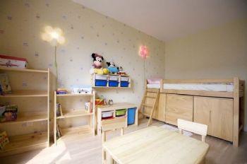 133平地中海复式美家地中海儿童房装修图片