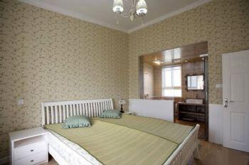 133平地中海复式美家地中海卧室装修图片