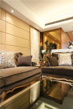 143平欧式精致雅居欧式客厅装修图片