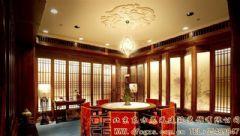 华丽温馨的中式会所装修设计案例酒店装修图片
