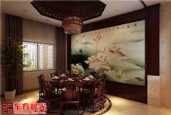 中式古典别墅装修设计素雅之美中式风格别墅