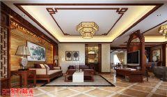 豪华大气中式别墅装修设计中式风格别墅