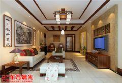 中式别墅装修设计案例空灵古雅中式风格别墅