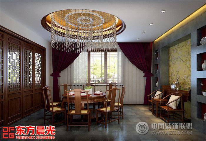 别墅时尚新中式木格