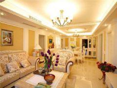 成都尚层装饰别墅装修欧美风格案例效果图欣赏(三)欧式风格大户型