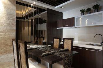 220平现代时尚别墅现代餐厅装修图片