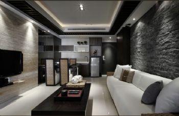 220平现代时尚别墅现代客厅装修图片