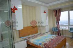 御景湾140平现代简约完工图现代简约卧室装修图片