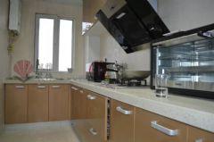 御景湾140平现代简约完工图现代简约厨房装修图片
