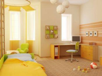 儿童房装修效果图田园卧室装修图片