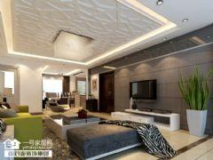 铂金天地现代风格四居室