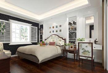 238平法式大气别墅混搭卧室装修图片