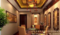 奢华精致的中式会所装修设计案例会所装修图片