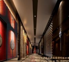 富丽堂皇的中式会所装修设计案例会所装修图片