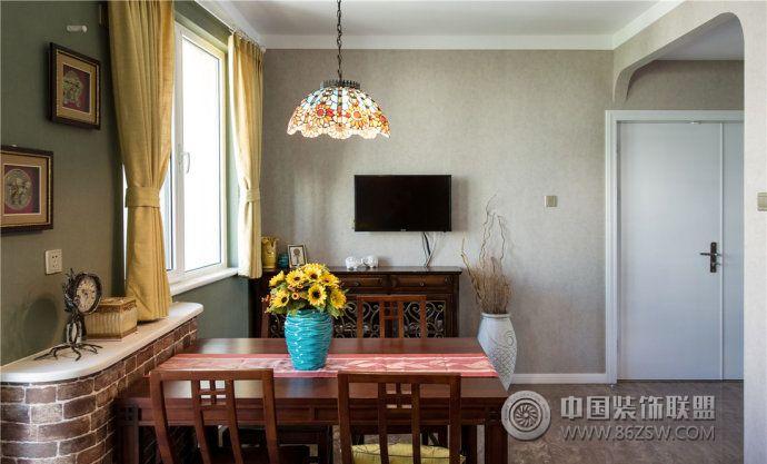 小户型餐厅装修案例 客厅装修效果图 八六装饰网装修效果